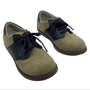 Footmates shoes saddle oxford Size 12 suede 2 tone